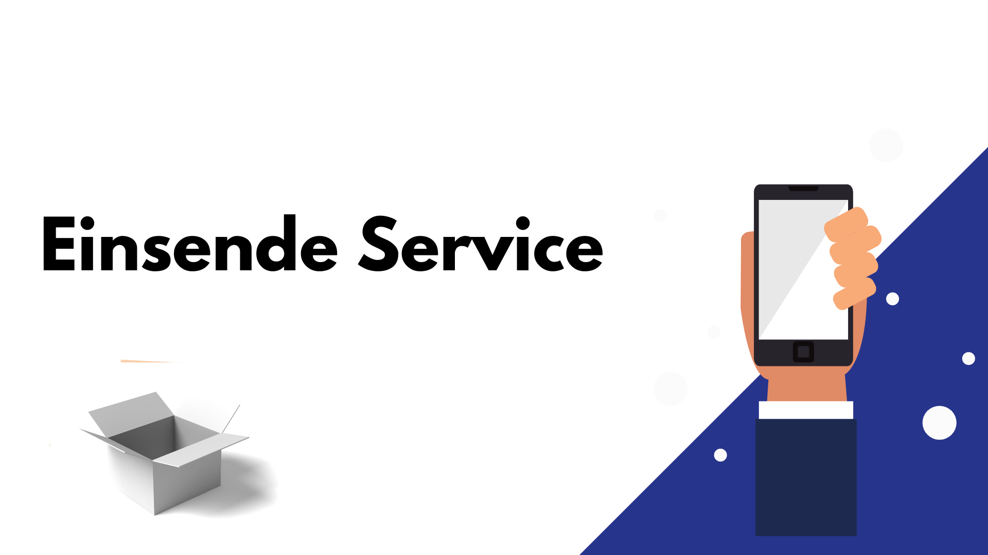 Handy Reparatur Einsende Service. Kaputtes Handys reparieren lassen