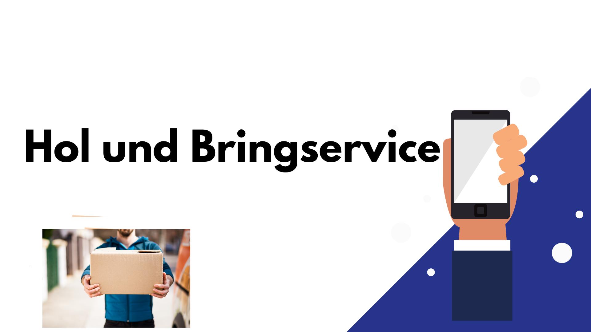 Handy Reparatur Hold und Bringservice kaputtes Smartphone